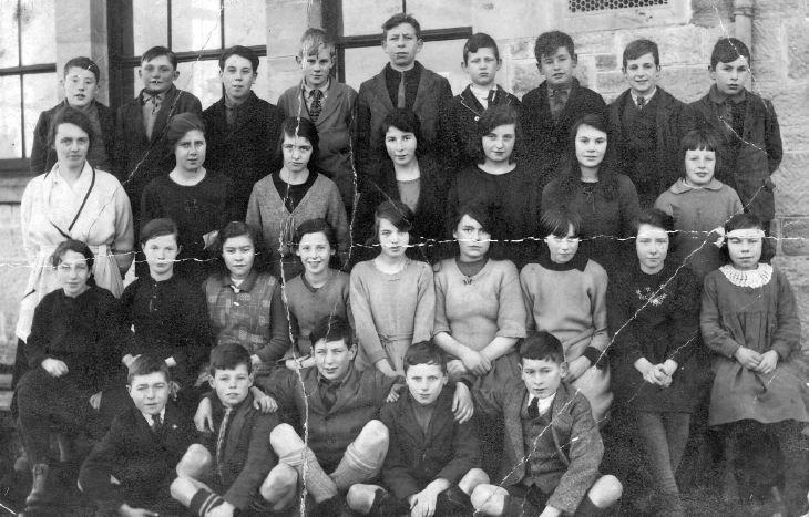 Dornoch Academy, Miss Fraser's class