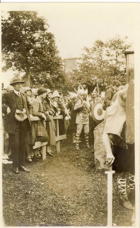 Viking participants Dornoch Pageant 1928