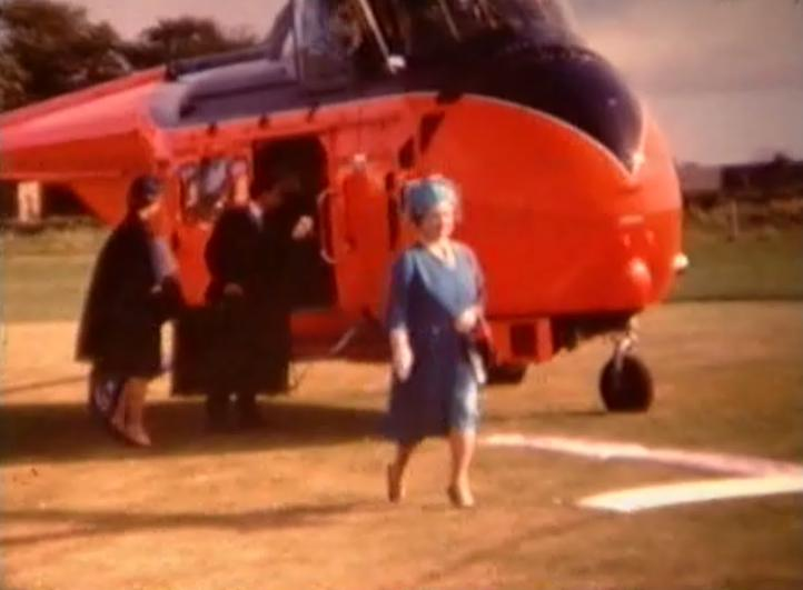 Opening of Dornoch Academy by Queen Mother