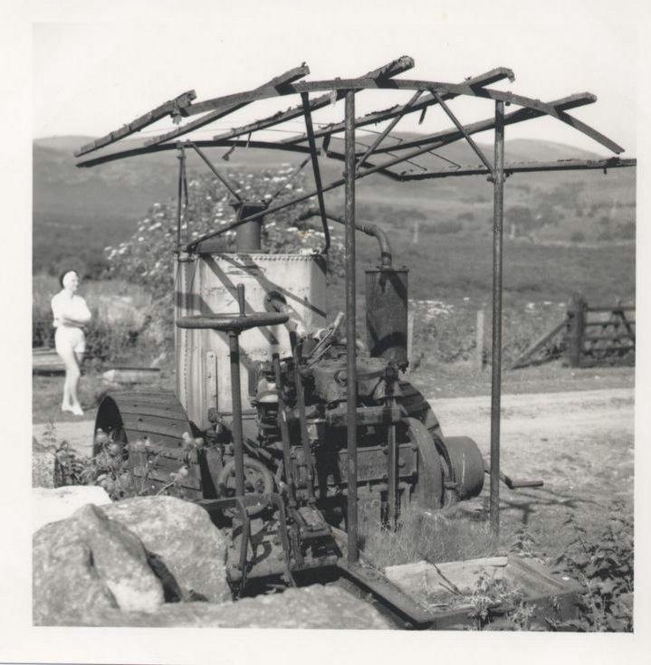 Torboll Street Farm tractor