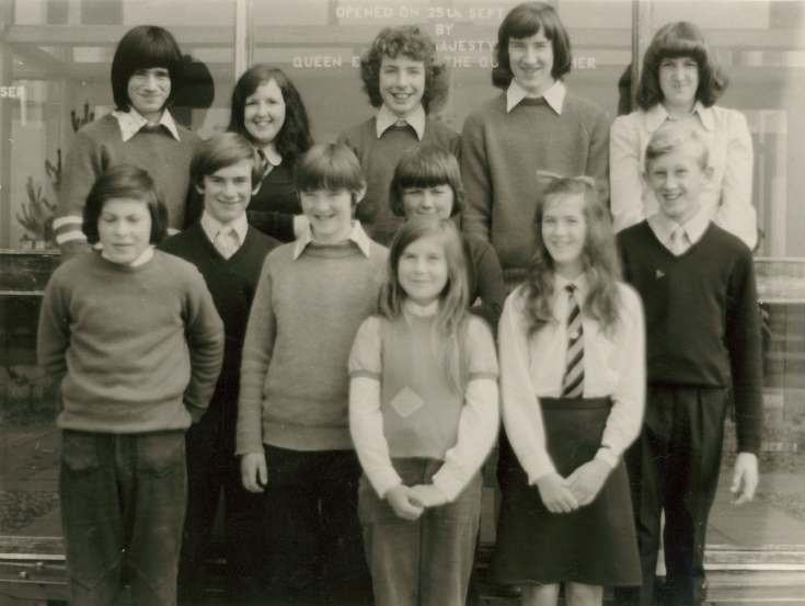 Dornoch Academy prize winners 1972