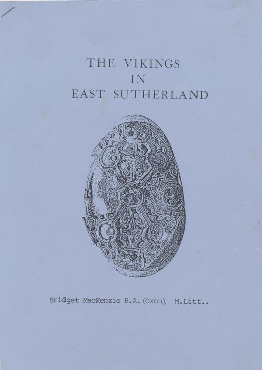 The Vikings in East Sutherland