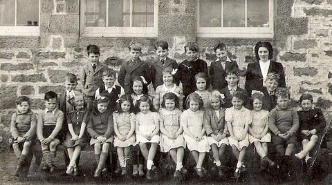 Group photograph Embo School c 1946