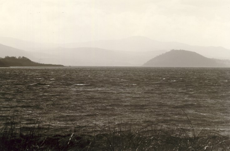 Dun of Creich and south shore of the Dornoch Firth