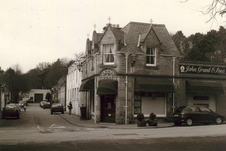 John Grant & Sons shop St Gilbert Street, Dornoch c 2003