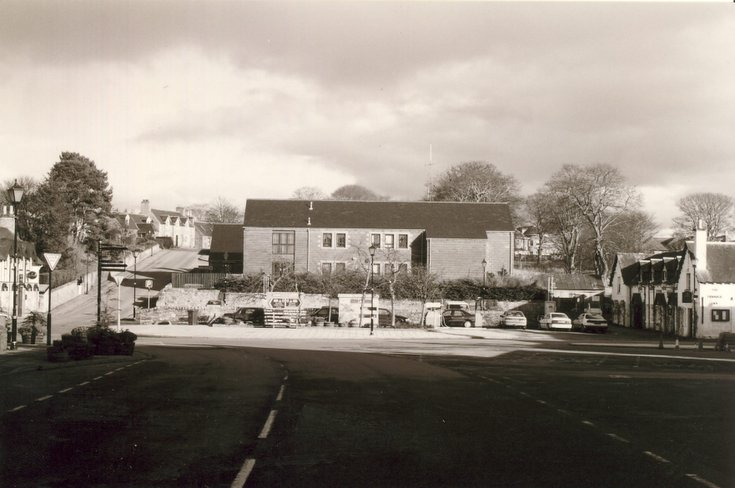 East end of Dornoch Square c 2003 before development