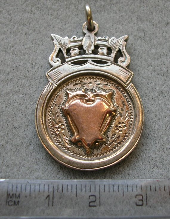 Billiards medal F MacRae