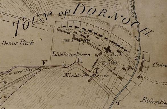 David Aitken's Plan of Dornoch 1784