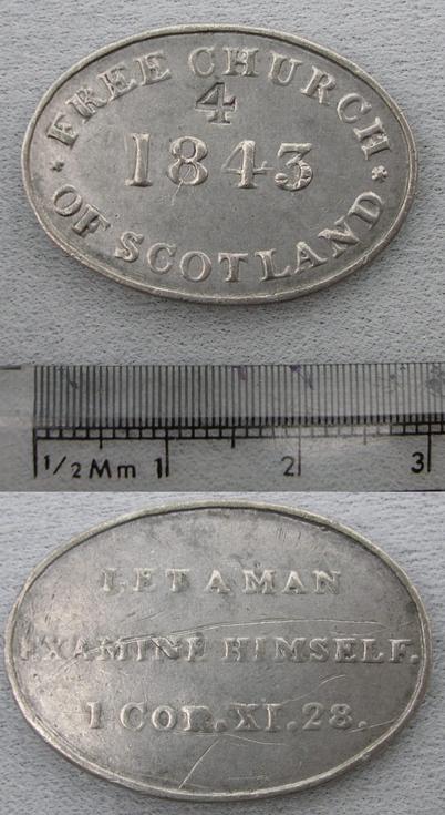 Communion token 1843