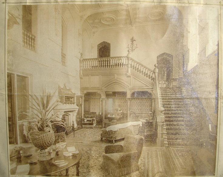 Example photograph from the of sale particulars of Skibo Estate 1890