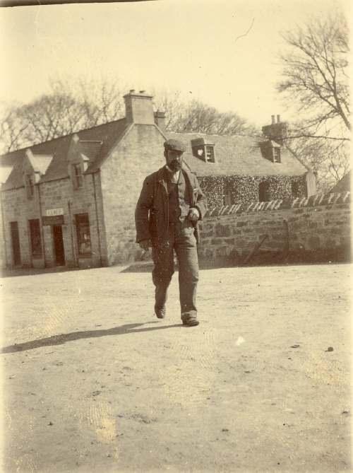 photograph of Headmaster of Old School, School Hill