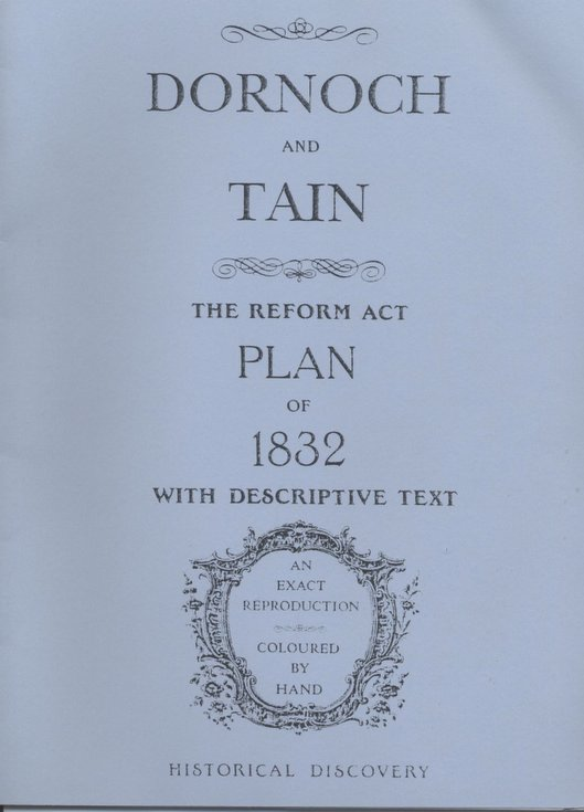 Dornoch and Tain The Reform Act Plan of 183