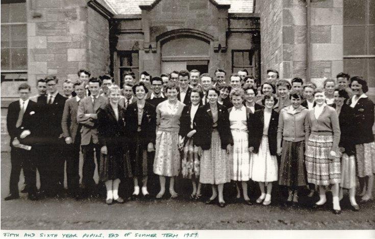 Dornoch Academy Fifth - Sixth Year End of Term 1959