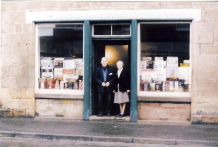 Tom Sutherlands shop in Castle Street