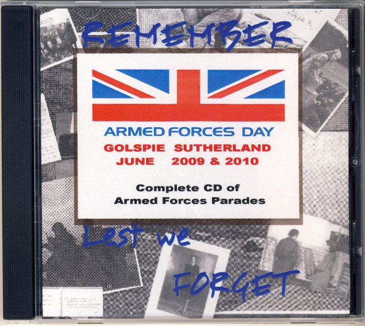 Armed Forces Day Parades CD
