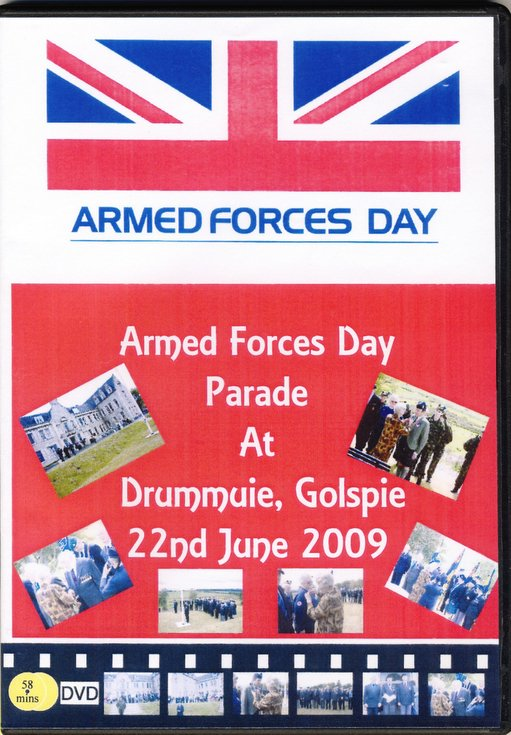 Film of Armed Forces Day Parade at Drummuie 22 June 2009