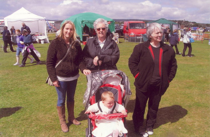 Four generations of the McCulloch family 2008