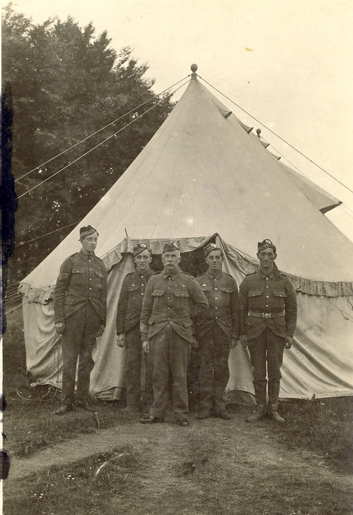 Soldiers of 1/5th Sutherland & Caithness Bn, Seaforth Highlanders