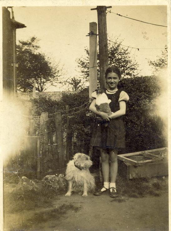 Bobbe McCulloch daughter of Robert G McCulloch 1942