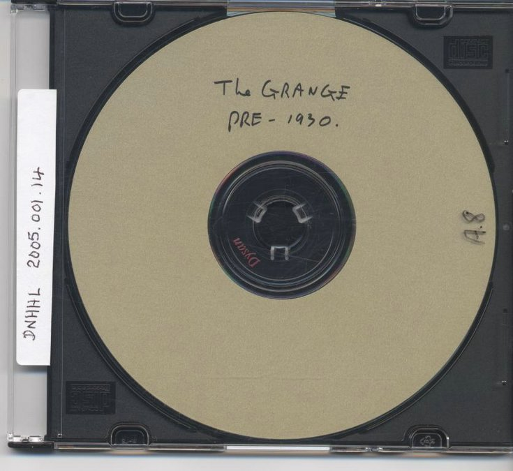 CD with set of photographs of interior of the Grange