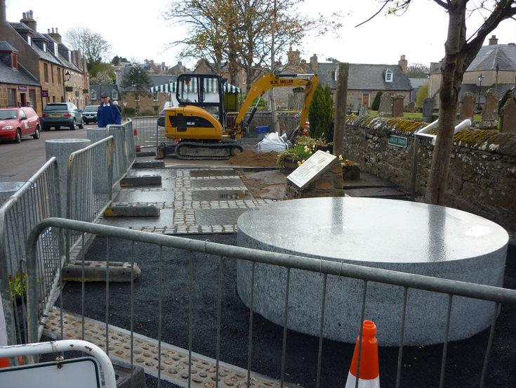 Mercat Cross site development 2010 nearing completion