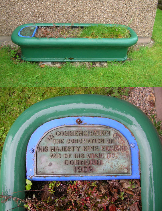 Water trough commemorating the Coronation of King Edward VII