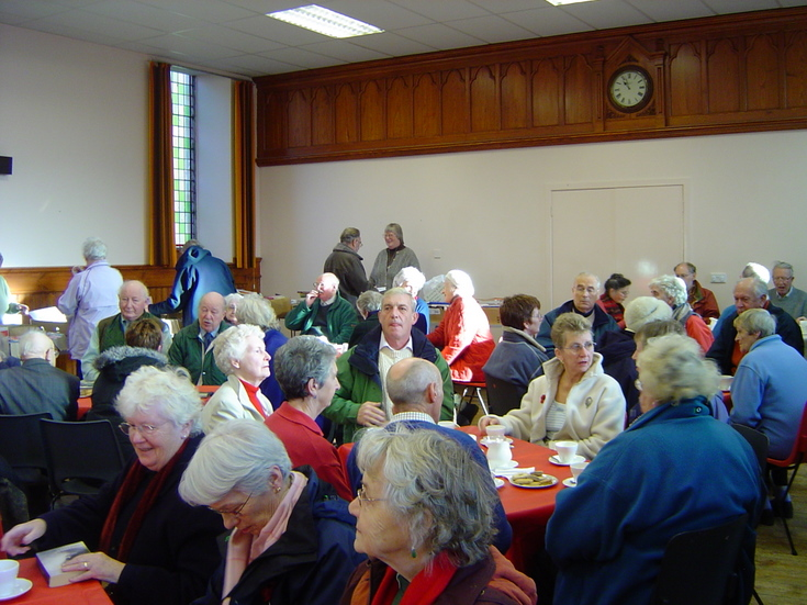 A full house at the Dornoch Heritage Society Coffee Morning Nov 06