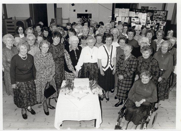 Dornoch SWRI 70th anniversary celebration 1996