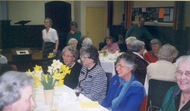 Dornoch SWRI  75th anniversary celebration