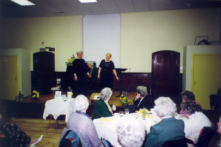 Dornoch SWRI  75th anniversary performance