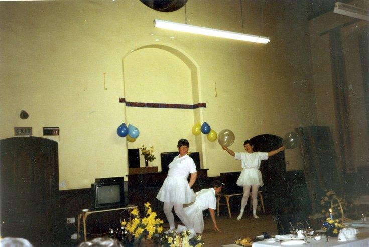 Dornoch SWRI  West Church Hall event 1986