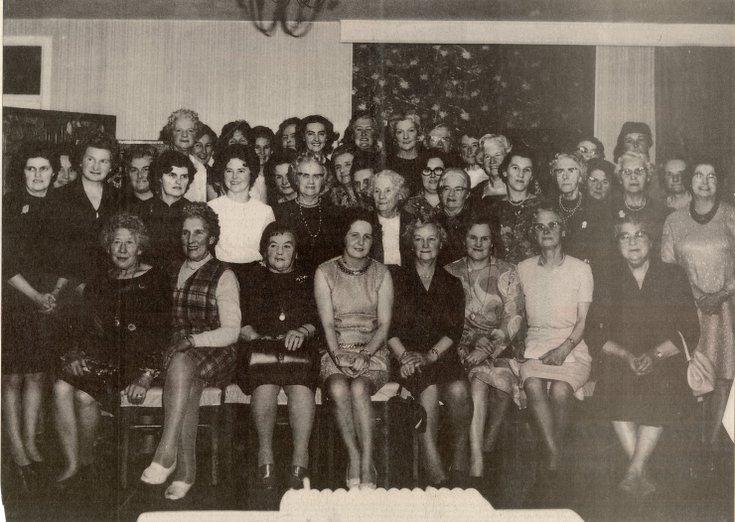 Dornoch SWRI  - Group photograph