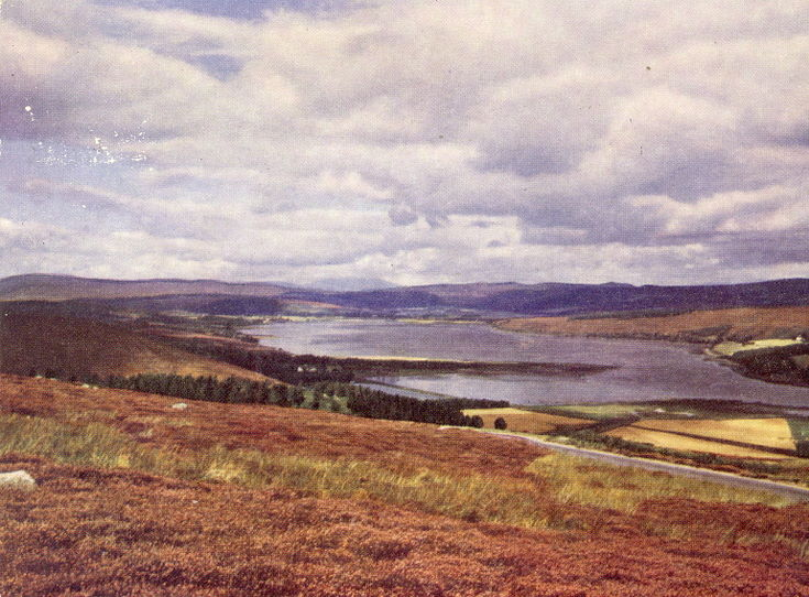 Kyle of Sutherland from Struie viewpoint - Furness collection