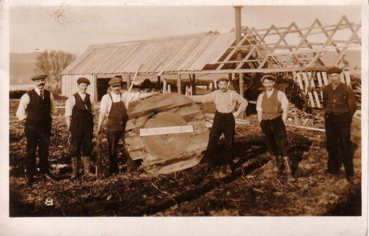 Sawmill at Clashmore