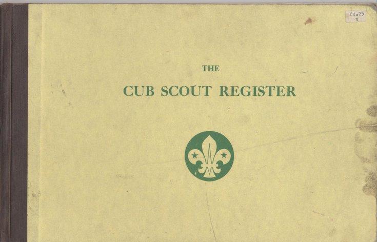 1st Dornoch Cub Scouts  Cub Scout Register  1982 - 1988
