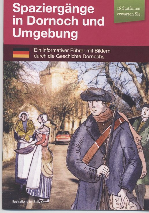 Dornoch Heritage Trail Walking Guide - German version