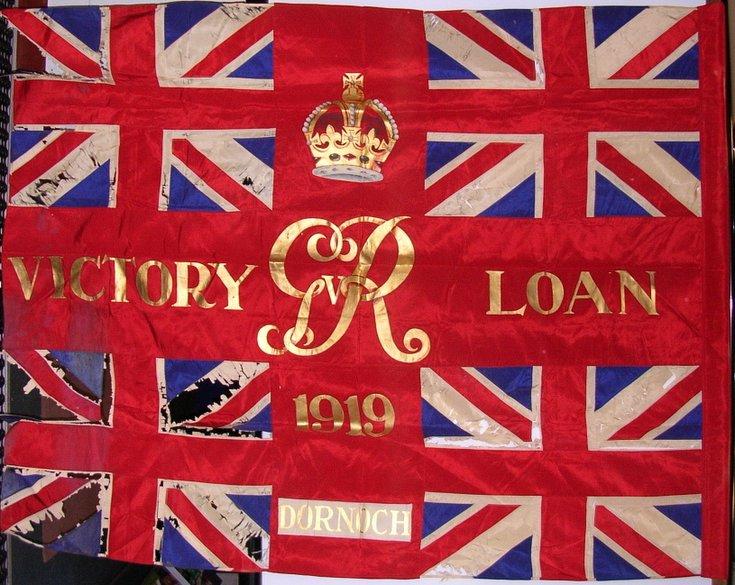 Victory Loan Flag 1919