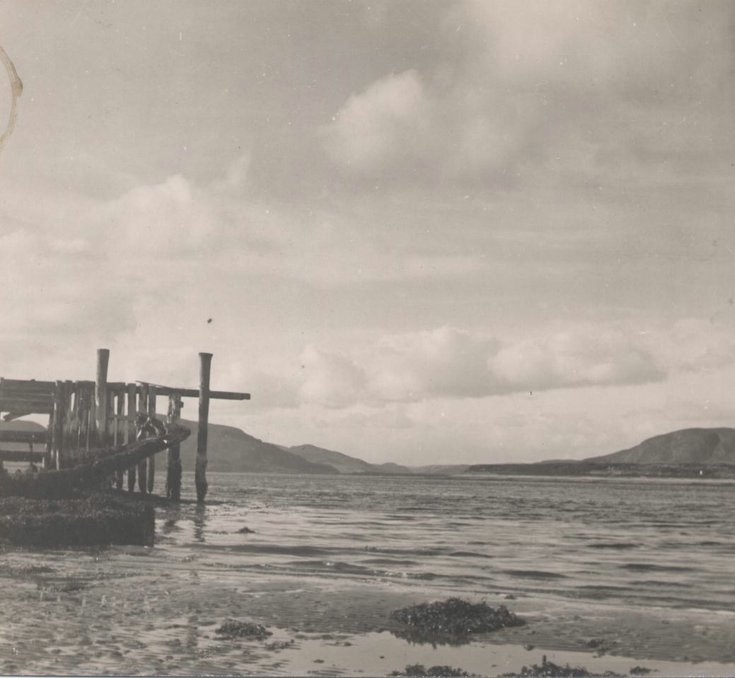 Photograph of Loch Fleet from quay on south side of Littleferry