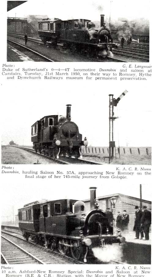 Dornoch locomotives