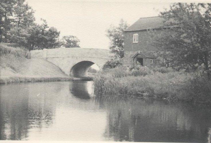 Bridge over the Whittington Cana;