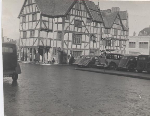 Rowley's Mansion Shrewsbury c 1930