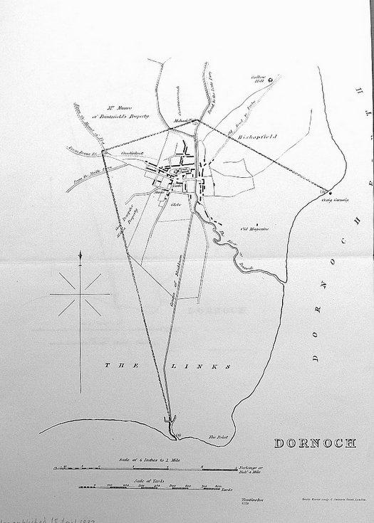 Dornoch burgh 1832