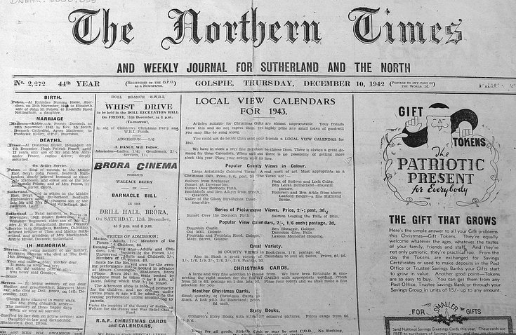 The Northern Times December 1942
