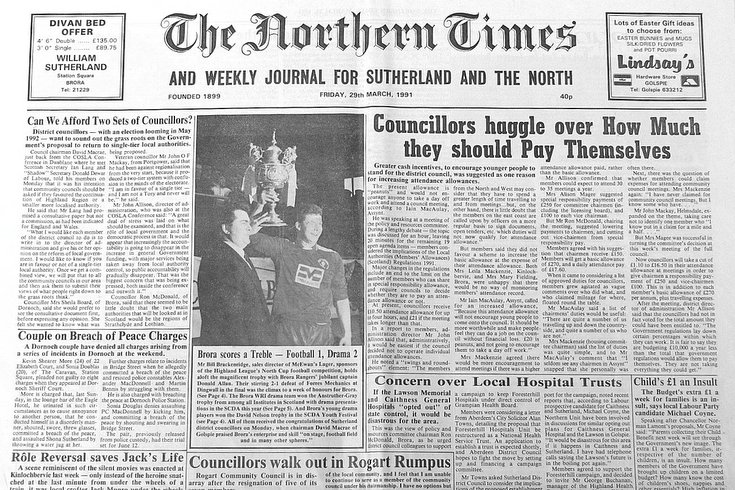 Northern Times 29 March 1991