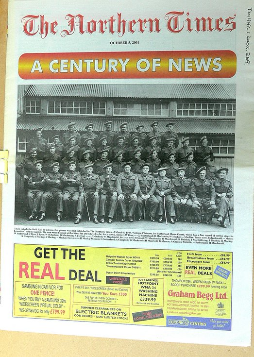 Northern Times supplement entitled