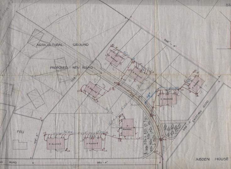 Bishopfield housing scheme 1920