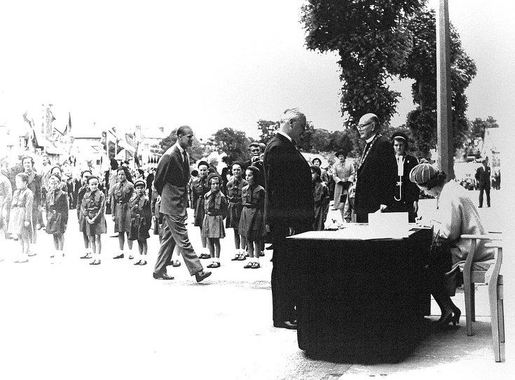 Visit of Queen & Prince Philip, 1964