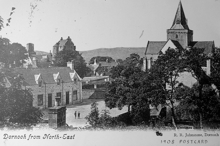 Dornoch from the north east