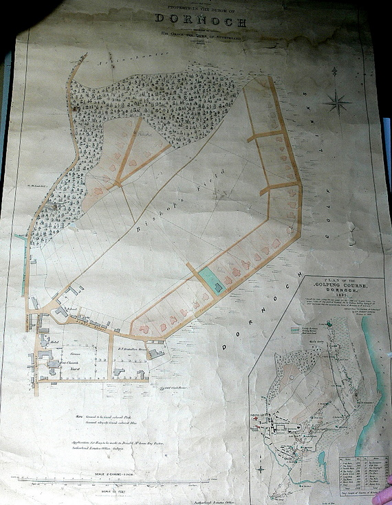 Plan of Dornoch