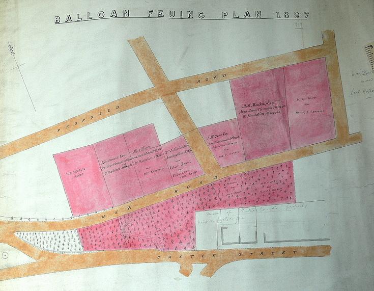 Balloan feuing plan 1897